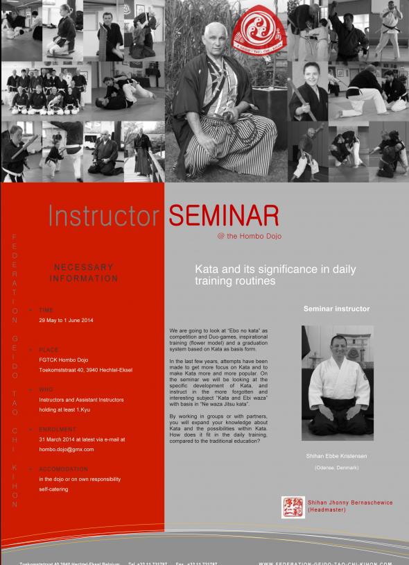 Instructor seminar 2014